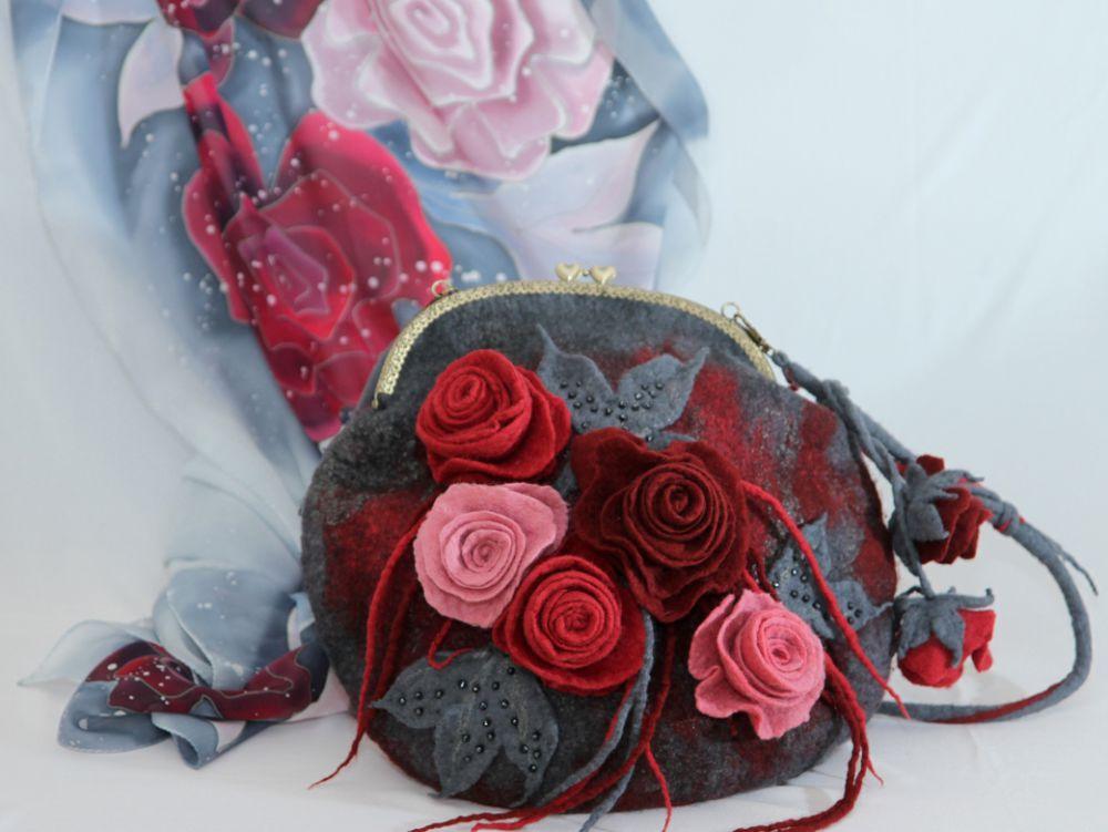 сумка ручной работы, сумочка, сумочка через плечо, купить подарок