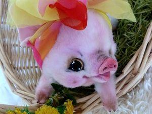 Хрюшки-Свинюшки или Готовим сани летом). Ярмарка Мастеров - ручная работа, handmade.
