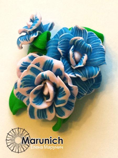 Как добавить красок из блеска. Возможности полимерной глины., фото № 17