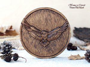 Монета с Орлом... для Веры :). Ярмарка Мастеров - ручная работа, handmade.