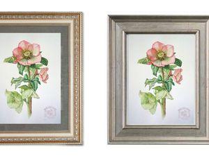 Как оформить акварель в стиле ботанической живописи. | Ярмарка Мастеров - ручная работа, handmade