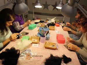 Расписание мастер-классов по сухому валянию. (февраль,март, апрель 2017г.)   Ярмарка Мастеров - ручная работа, handmade