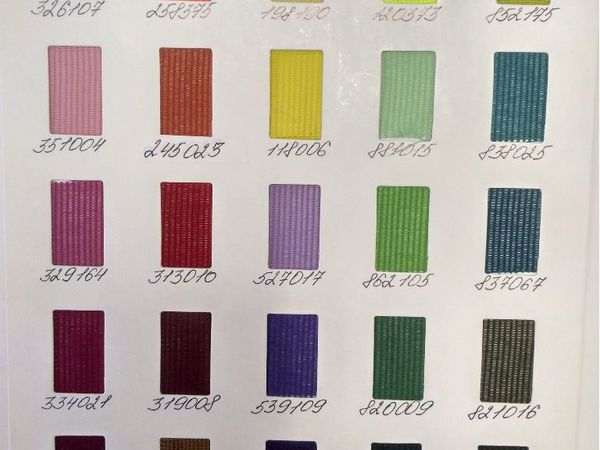 Карта цветов полиэфирного шнура | Ярмарка Мастеров - ручная работа, handmade