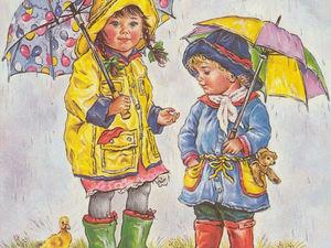 Чудесный мир детства английской художницы Christine Haworth. Ярмарка Мастеров - ручная работа, handmade.
