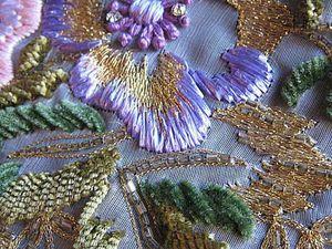 Люневильская вышивка — красота, которая актуальна во все времена. Ярмарка Мастеров - ручная работа, handmade.
