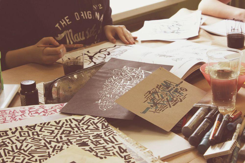уличное искусство, лбучение в москве, студия