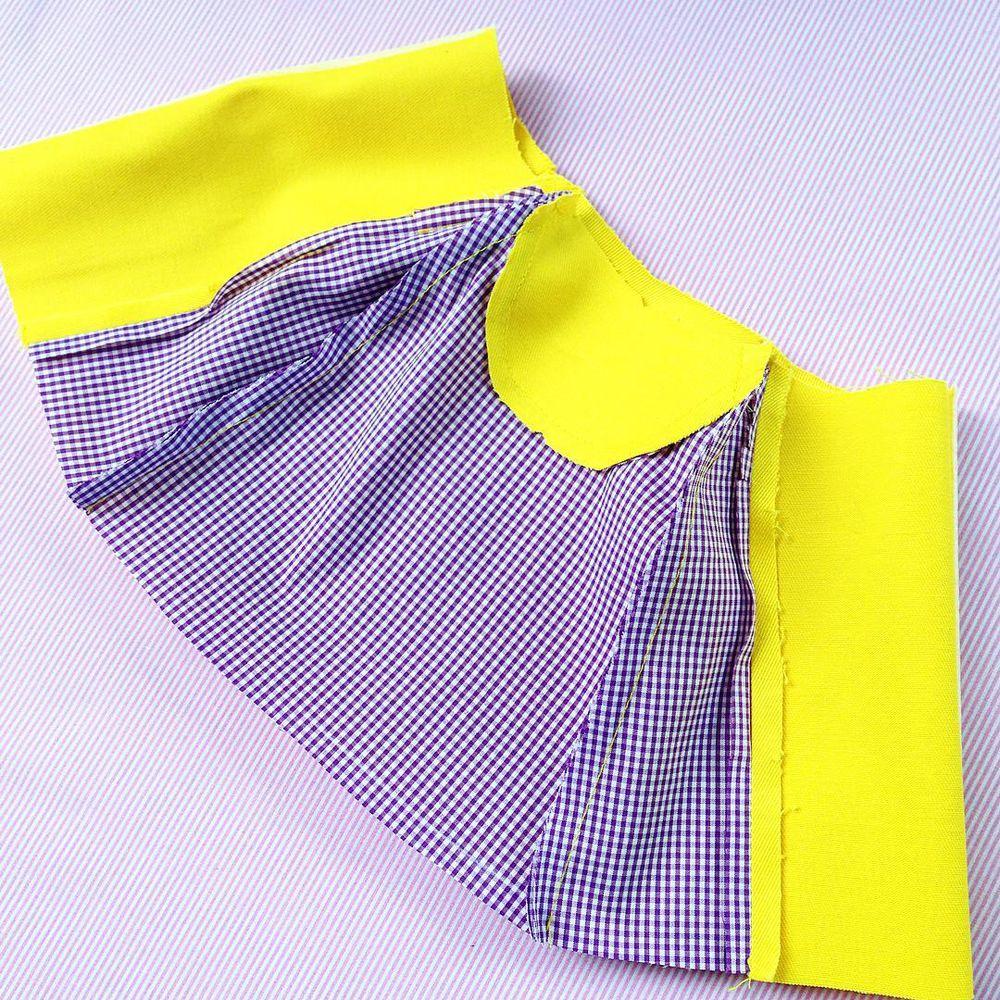 Курточка для куклы от Дины Крыловой (МК), фото № 6
