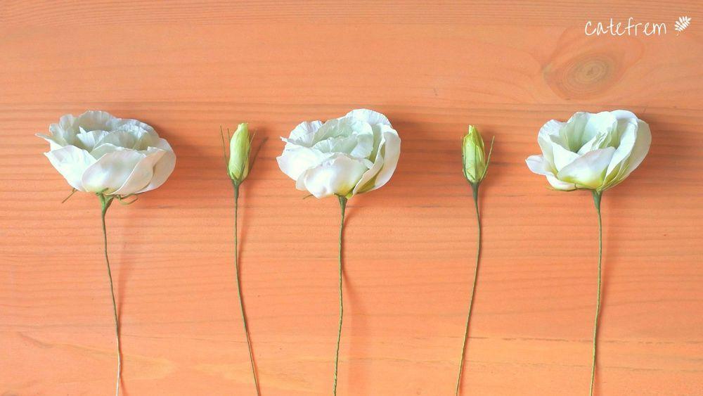 мастер-класс, мк по фоамирану, фоамиран мк, живой мк, мк екатеринбург, белая эустома, эустома из фоамирана, цветоделие, ручная работа, лизиантус, лизиантус белый, эустома, свадебные цветы