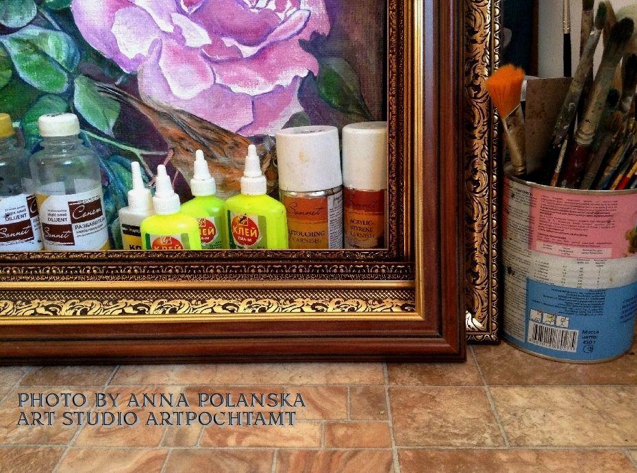 картины полянской анны, галерея картин онлайн, картины маслом холст