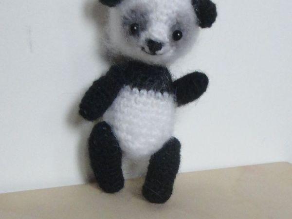 Вяжем маленькую панду | Ярмарка Мастеров - ручная работа, handmade