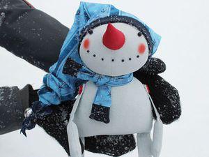 Шьём Снеговика с Петушком. Часть 1. Ярмарка Мастеров - ручная работа, handmade.