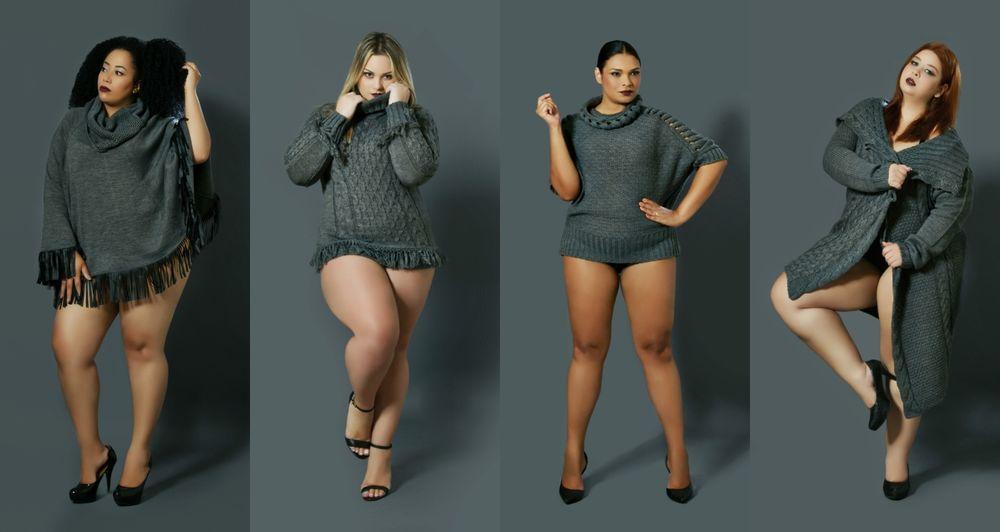Хорошо одеваться для весомых людей — это просто и недорого!