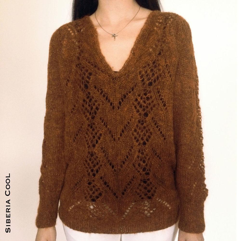 свитера, теплый свитер, коричневый свитер