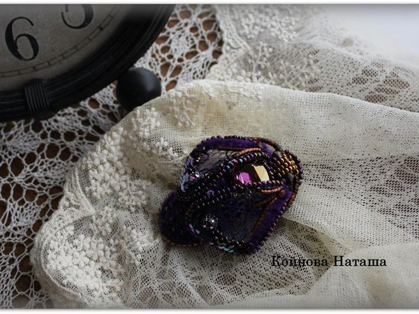 Брошка бабочка мотылек на каркасе   Ярмарка Мастеров - ручная работа, handmade