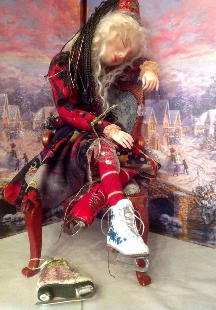 коньки съемные, кукольная обувь