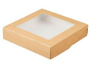 Рождественские скидки! Крафт-коробка 20х20х4 см - 10% | Ярмарка Мастеров - ручная работа, handmade