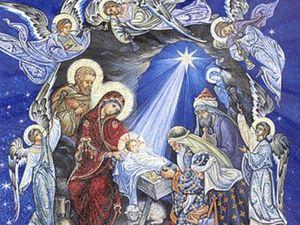 Рождество Христово!. Ярмарка Мастеров - ручная работа, handmade.