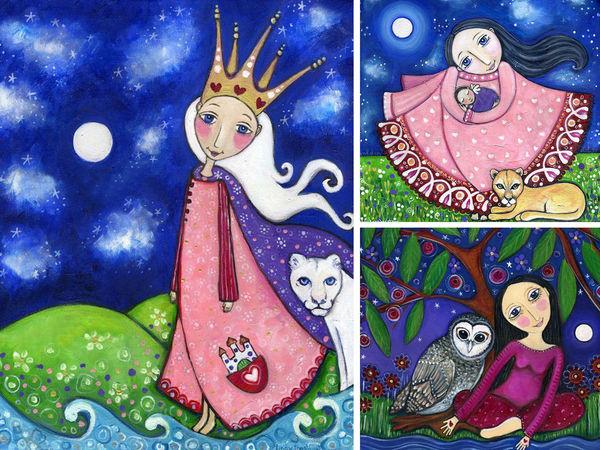 Сказочный мир Lindy Longhurst: вдохновение природой, сновидениями и медитацией | Ярмарка Мастеров - ручная работа, handmade