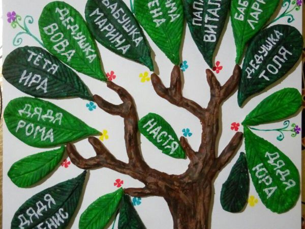 Семейное дерево своими руками фото фото 122