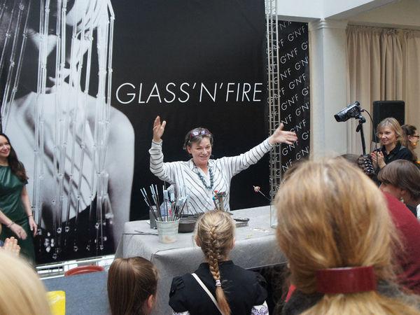 Моё открытое шоу на выставке Glass'n'fire | Ярмарка Мастеров - ручная работа, handmade