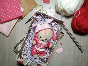 Бесплатный совместный пошив мишки Тоби. Ярмарка Мастеров - ручная работа, handmade.