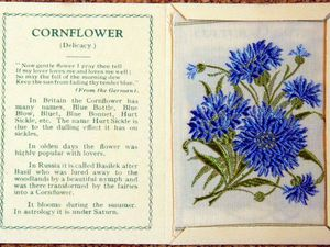 Embroidered Flowers — Advertising Packages of the 1930s and Design Ideas. Livemaster - handmade