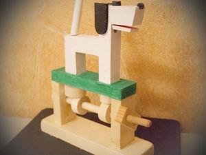 Собачка-автоматон, видео. Ярмарка Мастеров - ручная работа, handmade.