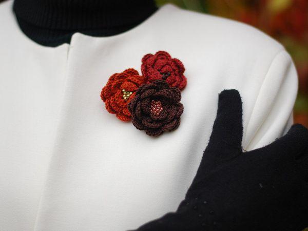 Как носить броши | Ярмарка Мастеров - ручная работа, handmade