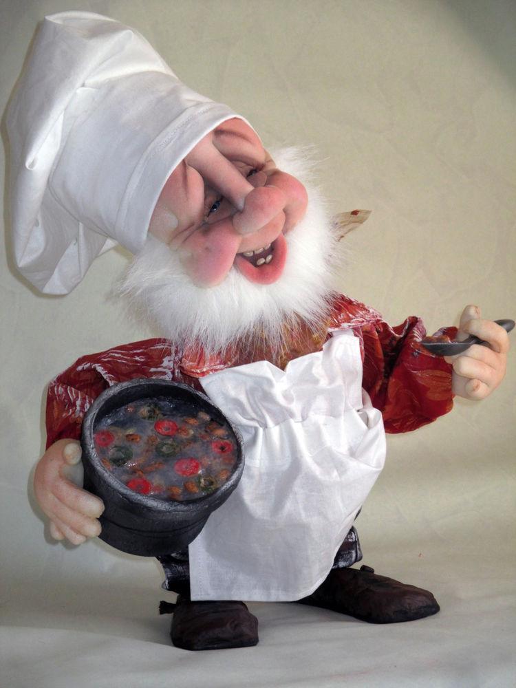 быстрый рецепт гном кукла картинки печатному процессу можно