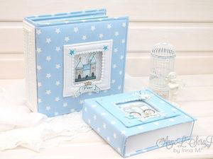 Альбом и мамины сокровища для маленького принца.   Ярмарка Мастеров - ручная работа, handmade