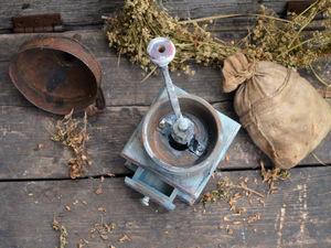 Кофемолка....Ручная кофемолка.... Сколько в ней..... Ярмарка Мастеров - ручная работа, handmade.