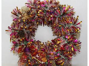 Новогодние венки | Ярмарка Мастеров - ручная работа, handmade