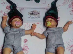 Скоро новый год! новогодние миниатюрные малыши. Ярмарка Мастеров - ручная работа, handmade.