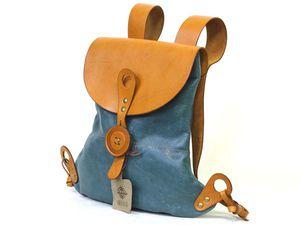 конкурс коллекций, рюкзак, сумка, натуральная кожа, лен