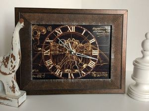 Дизайнерские часы за 1 час.. Ярмарка Мастеров - ручная работа, handmade.