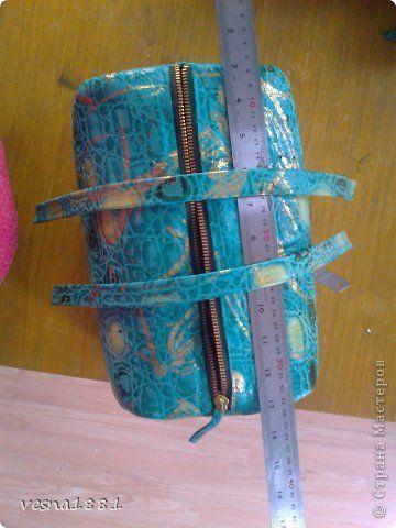 Гардероб Мастер-класс Шитьё Пошив кожаной сумки своими руками Кожа фото 16