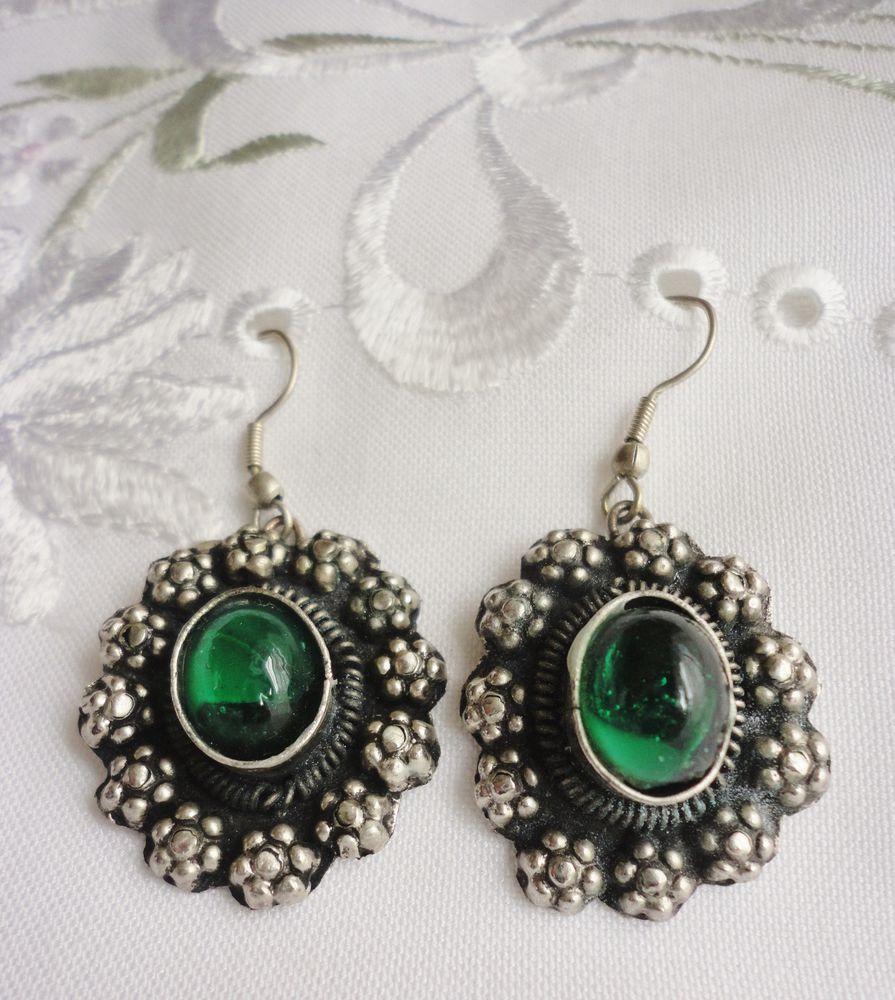 зеленый цвет, стиль бохо