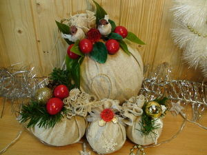 DIY Christmas Balls of Scrap Materials. Livemaster - handmade