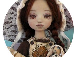 Берта и крольчиха Тэсса | Ярмарка Мастеров - ручная работа, handmade