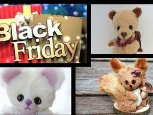 23-24 ноября - Черная пятница на Ярмарке Мастеров!. Ярмарка Мастеров - ручная работа, handmade.