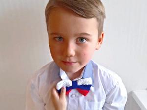 Вяжем галстук-бабочку к 23 февраля. Ярмарка Мастеров - ручная работа, handmade.