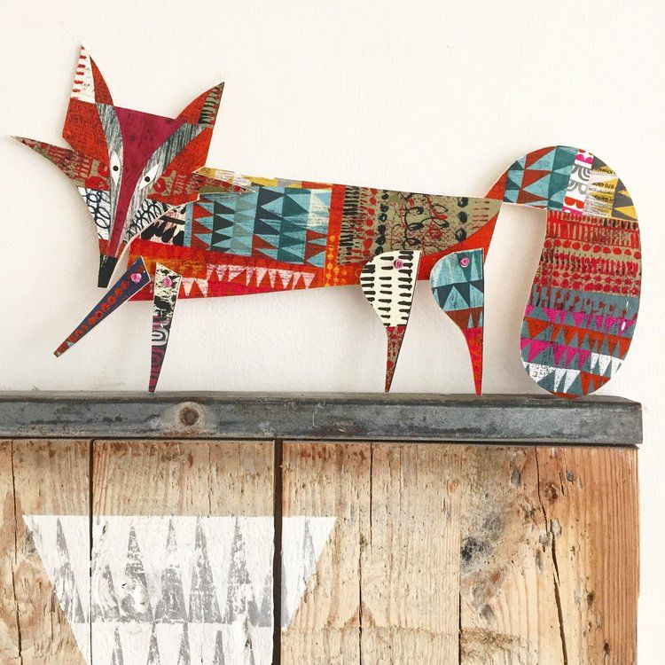 Cheerful Animals of Paper and Fabric by the Designer Clare Youngs, фото № 14