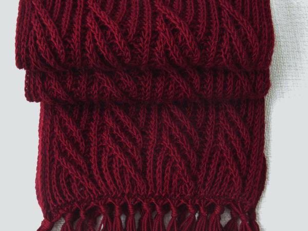 Отчёт для Сергея или вариации на тему шарфа