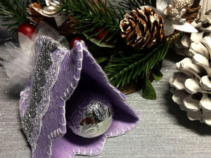 One Christmas DIY Idea: Making a Jolly Bell out of Felt. Livemaster - handmade