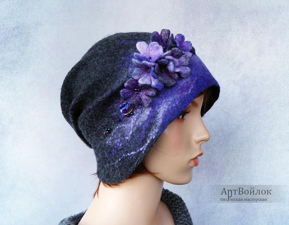 шапка войлочная