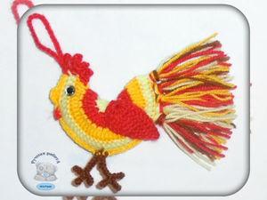 Акция!!! Новогодние петушки по 150 руб.!!! | Ярмарка Мастеров - ручная работа, handmade