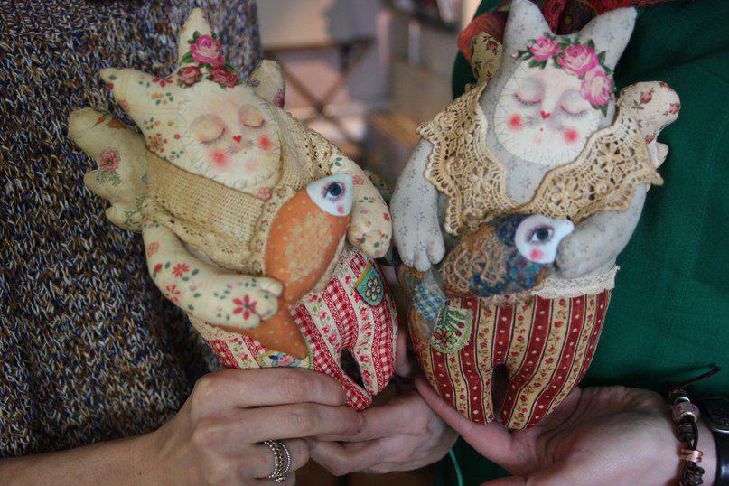 Необычные игрушки из текстиля своими руками 48