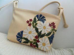 Аукцион с 0 на кожаную сумочку №3. Ярмарка Мастеров - ручная работа, handmade.