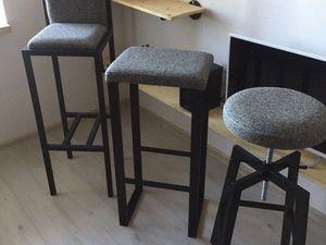 Трио мягких барных стульев. Ярмарка Мастеров - ручная работа, handmade.