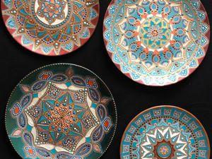 Видео мастер-класс: как сделать надежный подвес для керамической тарелки. Ярмарка Мастеров - ручная работа, handmade.